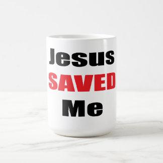 Jesus Saved Me Mug