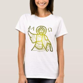 Jesus saves Alpha and Omega T-Shirt