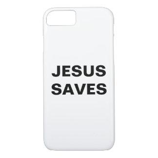 """Jesus Saves"" Apple iPhone 8/7 Case"