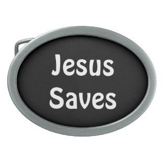 Jesus Saves Belt Buckle
