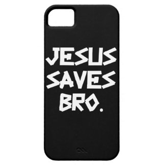 Jesus Saves Bro. Barely There iPhone 5 Case
