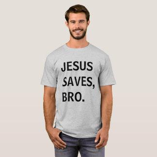 """Jesus Saves, Bro"" - Men's Shirt"