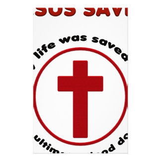 jesus saves, christian religion gift t shirt stationery
