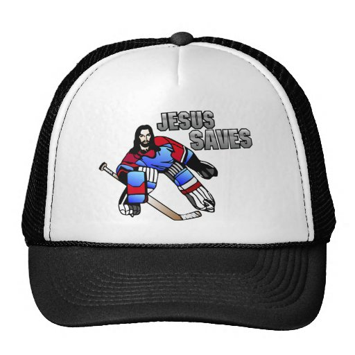 JESUS SAVES TRUCKER HATS