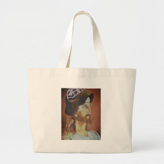 Jesus Saves Jumbo Tote Bag