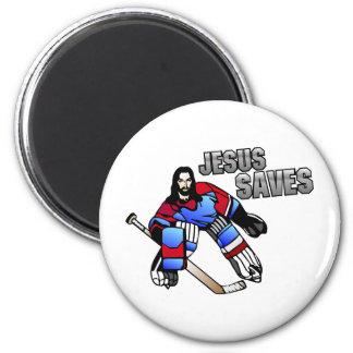 JESUS SAVES FRIDGE MAGNET