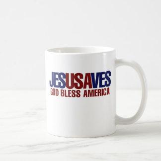 Jesus Saves Coffee Mugs