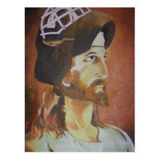 Jesus Saves Postcard