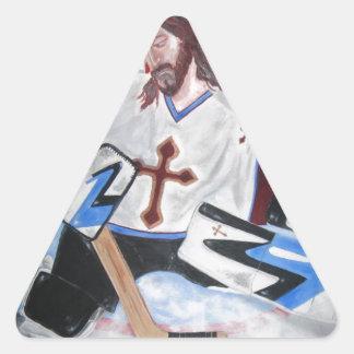 Jesus Saves! Triangle Sticker