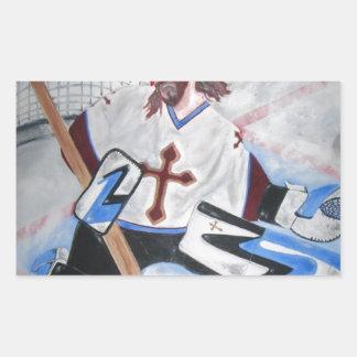 Jesus Saves! Rectangular Sticker