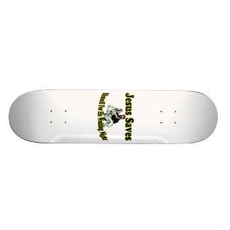 Jesus Saves Wedding Night 20.6 Cm Skateboard Deck