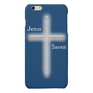 Jesus Saves-White Cross/Religion