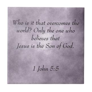 Jesus Scripture Tile