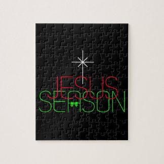 Jesus Season Jigsaw Puzzle