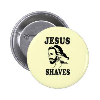 JESUS SHAVES PINS