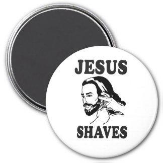 JESUS SHAVES REFRIGERATOR MAGNET