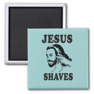 JESUS SHAVES MAGNET
