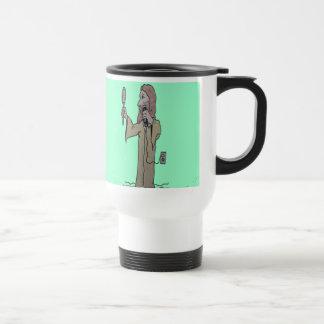 Jesus shaves mugs