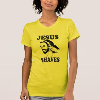 JESUS SHAVES TSHIRTS