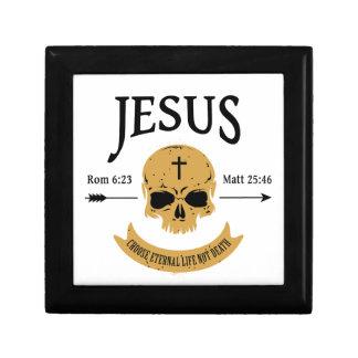 Jesus Skull Eternal Life Christian Gift Box