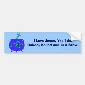Jesus Stew Bumper Stickers