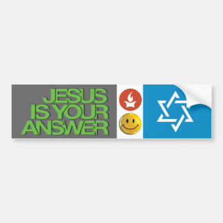 Jesus stuff bumper sticker