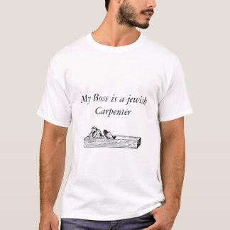 Jesus T-shirt-My boss is a jewish carpenter T-Shirt