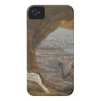 Jesus Tempted in Wilderness iPhone 4 Case-Mate Case