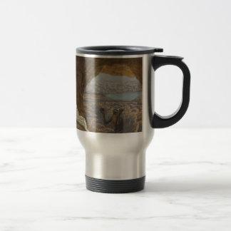 Jesus Tempted in Wilderness Travel Mug