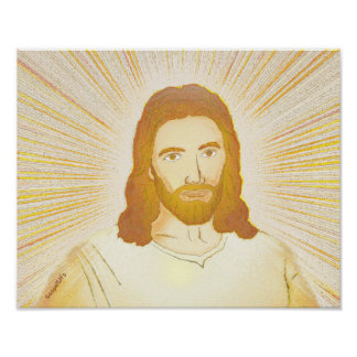 Jesus the Christ Poster