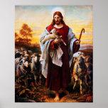 Jesus The Good Shepherd 01 Poster A