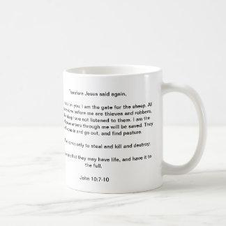 Jesus the good shepherd - Office Mug
