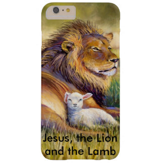 Jesus, the lion and the Lamb Barely There iPhone 6 Plus Case