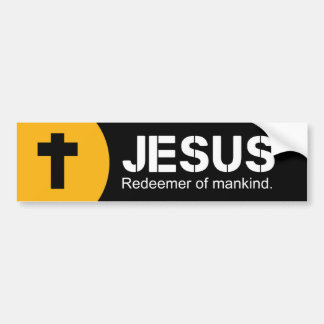 Jesus the Lord Bumper Sticker