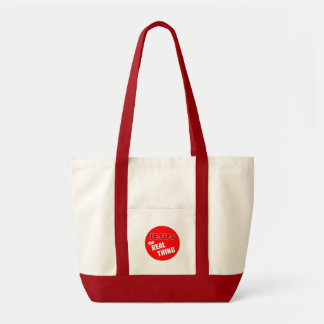 Jesus: the Real Thing Impulse Tote Bag