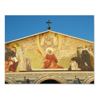 Jesus, the son of GOD in Church of Nations 11 Cm X 14 Cm Invitation Card