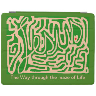 Jesus the Way through the maze of Life iPad Cover