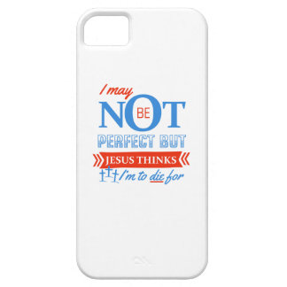 Jesus thinks I'm to die for Barely There iPhone 5 Case