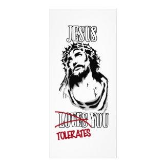 Jesus Tolerates You Rack Cards