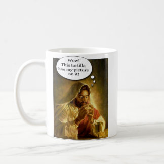 Jesus Tortilla Coffee Mug