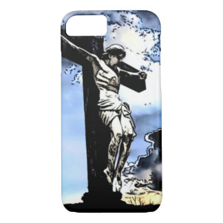 Jesus Tribute Watercolor Print iPhone 7 Case
