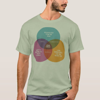 Jesus Venn Diagram T-Shirt