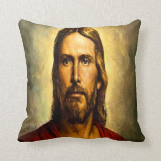 Jesus Vintage Pillow