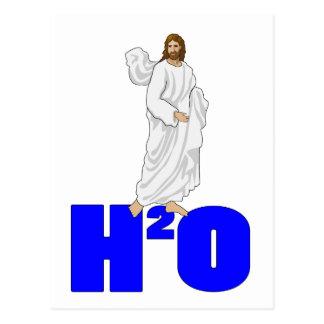 Jesus Walks on Water Postcard