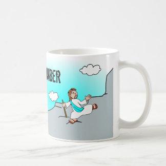 Jesus was a Climber Coffee Mug