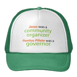 Jesus was a community organizer cap