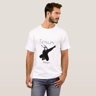 Jesus was a Ninja tee shirt 5