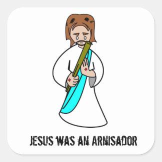 Jesus was an Arnisador Sticker