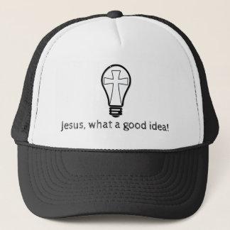 Jesus. What a good idea! Trucker Hat