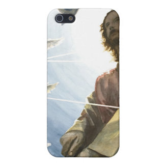 Jesus with a Gun iPhone 5 Cover
